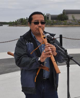 william_greenland_performs_at_dene_nation_bbq